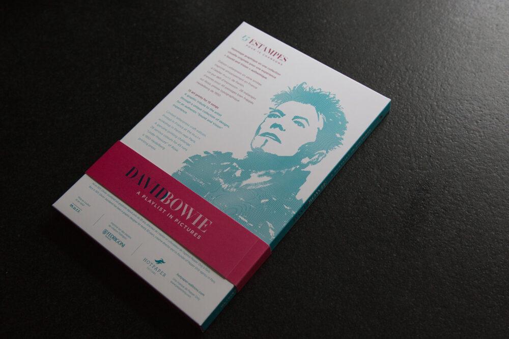 David Bowie, A Playlist in Pictures - Coffret de 15 estampes