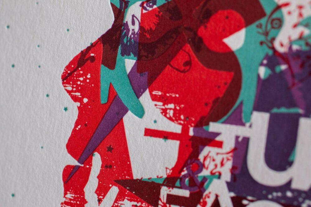 CHANGES - Letterpress Art Print