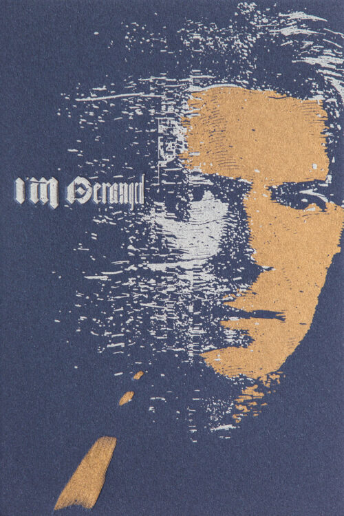 I'M DERANGED - Letterpress Art Print