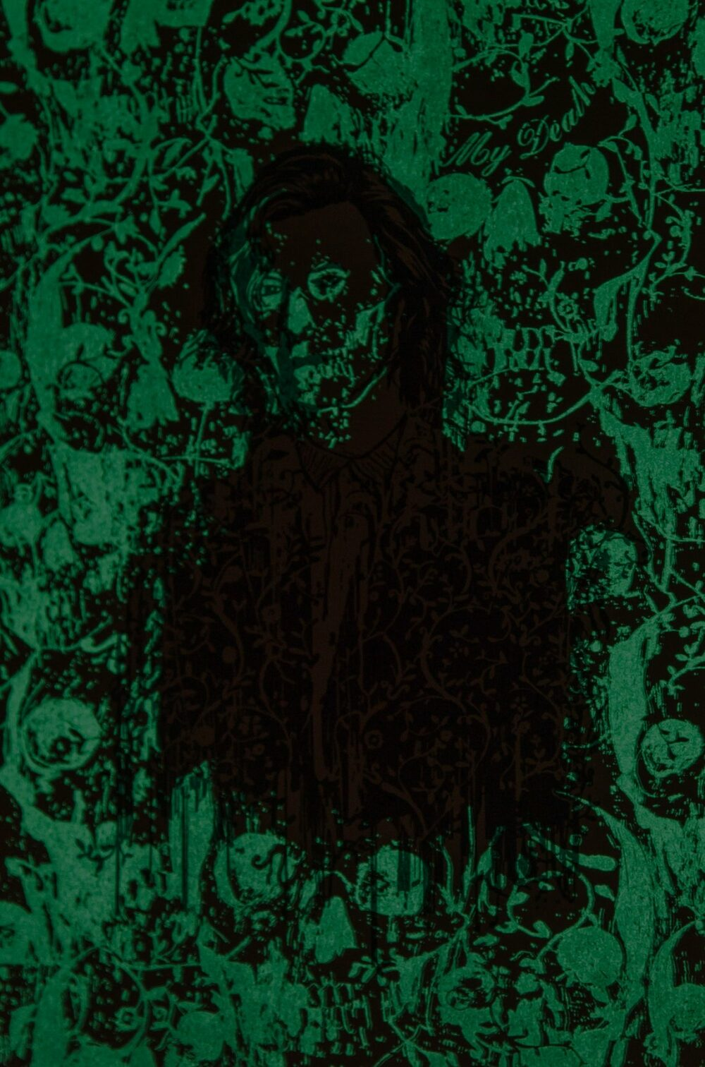 MY DEATH - Letterpress Art Print