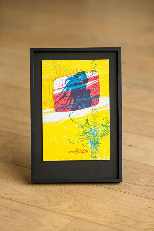 TVC 15 - Letterpress Art Print