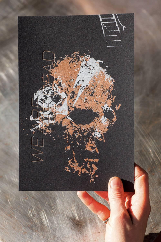 WE ARE THE DEAD - Illustration originale