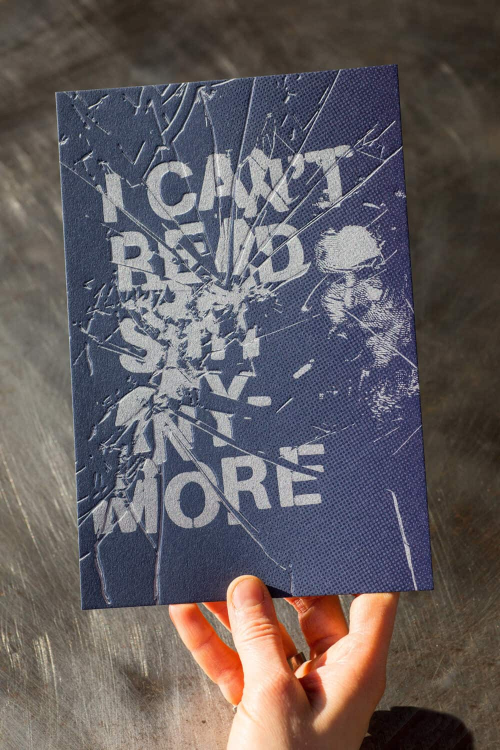 I CAN'T READ - Illustration originale