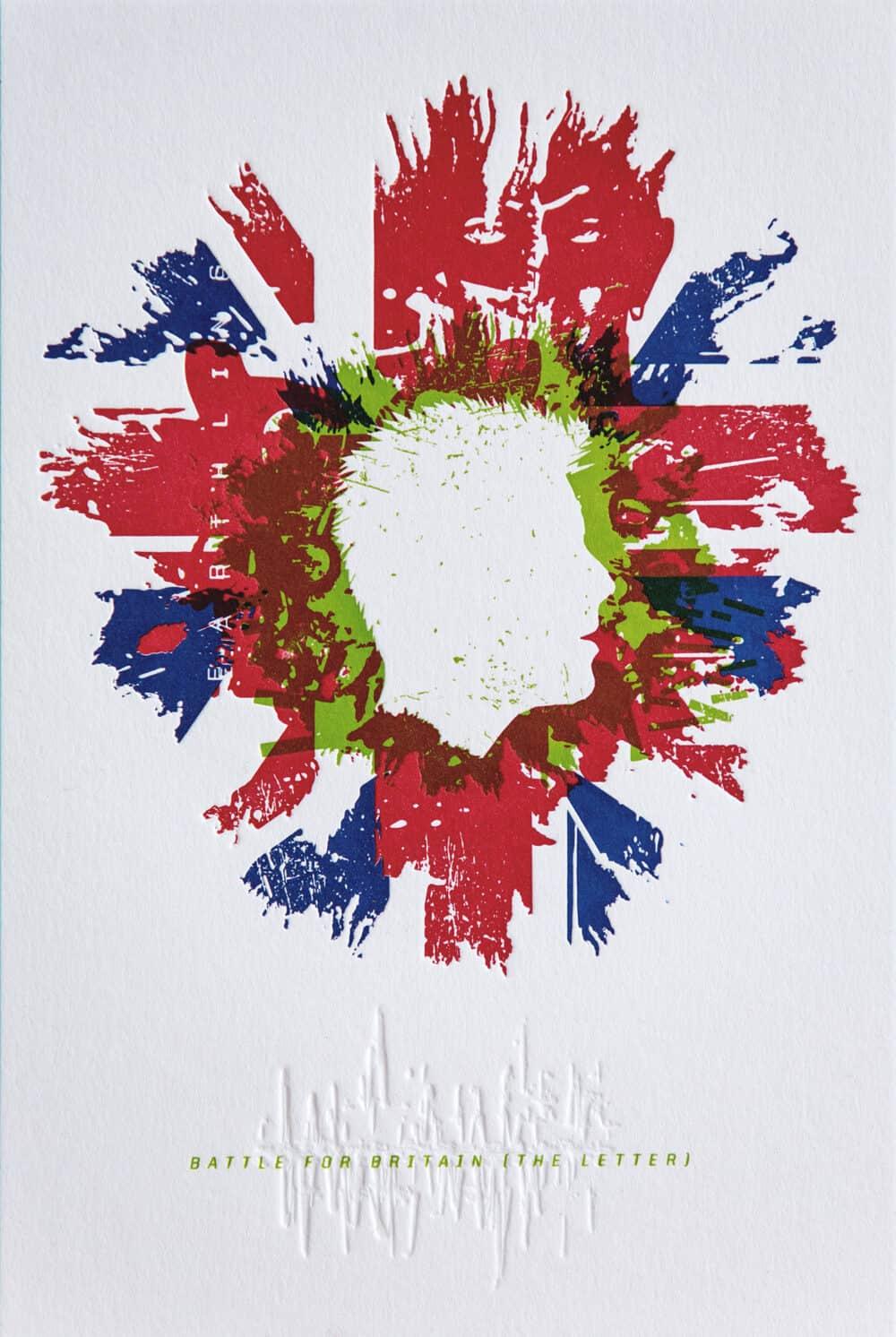 BATTLE FOR BRITAIN - Letterpress Art Print